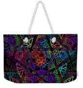 Decorative Pentacle Tiled Pattern Weekender Tote Bag