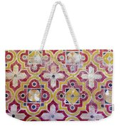 Decorative Tiles Islamic Motif  Weekender Tote Bag
