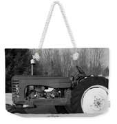 Decorative Tractor Weekender Tote Bag