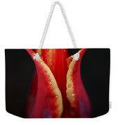 Decorative Tulip Weekender Tote Bag