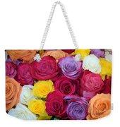 Decorative Wallart Brilliant Roses Photo A41217 Weekender Tote Bag by Mas Art Studio
