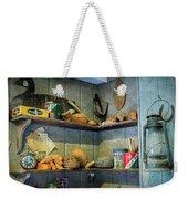 Decoy Workshop Shelves Weekender Tote Bag