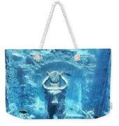 Deep Atlantis Weekender Tote Bag