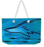 Deep Blue Weekender Tote Bag by Ben and Raisa Gertsberg