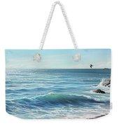 Deep Blue Sea Weekender Tote Bag