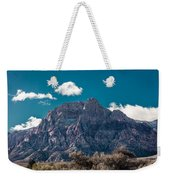 Deep Blue Sky Canyon Weekender Tote Bag