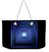 Deep Blue Solstice Weekender Tote Bag
