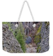 Deep Creek Gorge Weekender Tote Bag