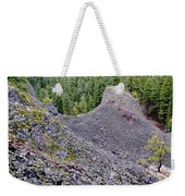 Deep Creek Rocks Weekender Tote Bag