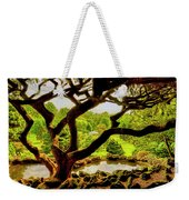 Deep Cuts Gazebo Between The Tree Branches Weekender Tote Bag