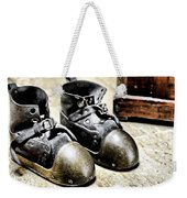 Deep Diver Boots Hdr And Vintage Process Weekender Tote Bag