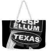 Deep Ellum Texas Weekender Tote Bag