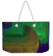 Deep Geometry Weekender Tote Bag