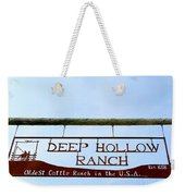 Deep Hollow Ranch Weekender Tote Bag