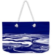 Deep In Blue Weekender Tote Bag