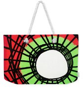 Deep In The Disturbance There May Be Light Weekender Tote Bag