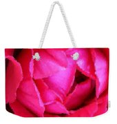 Deep Inside The Rose Weekender Tote Bag