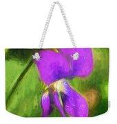 Deep Purple - Wildflower Art Weekender Tote Bag