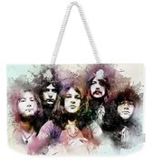 Deep Purple.rock Stars Weekender Tote Bag