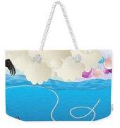 Deep Sea Fishing Weekender Tote Bag