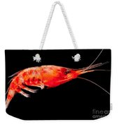 Deep Sea Shrimp Weekender Tote Bag