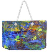 Deep Space Abstract Art Weekender Tote Bag