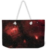 Deep Space Bubble Nebula Ngc 7635 In Constellation Cassiopeia Weekender Tote Bag