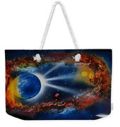 Deep Space Cavern Weekender Tote Bag