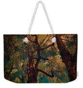 Deep Trees Weekender Tote Bag
