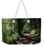 Deep Woods Road Weekender Tote Bag