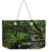 Deep Woods Stream 3 Weekender Tote Bag