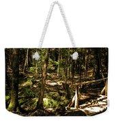 Deep Woods Trail Weekender Tote Bag