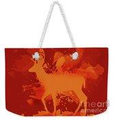 Deer Art Evening Weekender Tote Bag