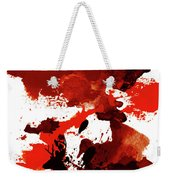 Deer Art Night Weekender Tote Bag