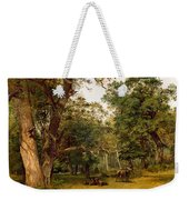 Deer At The Edge Of A Wood Weekender Tote Bag