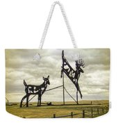 Deer Crossing Weekender Tote Bag