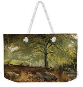 Deer In A Wood Weekender Tote Bag