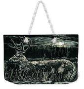 Deer In Moonlight Weekender Tote Bag