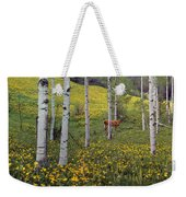 Deer In Spring Weekender Tote Bag