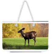 Deer In The Wild Weekender Tote Bag