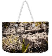 Deer In The Wood Weekender Tote Bag