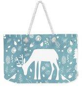 Deer In The Woods Weekender Tote Bag