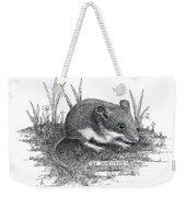 Deer Mouse Weekender Tote Bag