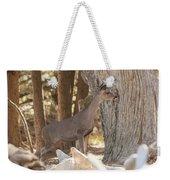 Deer On The Look Out Weekender Tote Bag