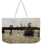 Deer Point Lake At Dusk Weekender Tote Bag