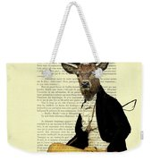 Deer Regency Portrait Weekender Tote Bag