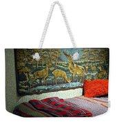 Deer Room Weekender Tote Bag