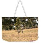 Deer Tails Weekender Tote Bag