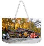 Deer Tractor  Weekender Tote Bag