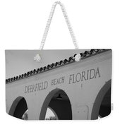 Deerfield Beach Florida Weekender Tote Bag